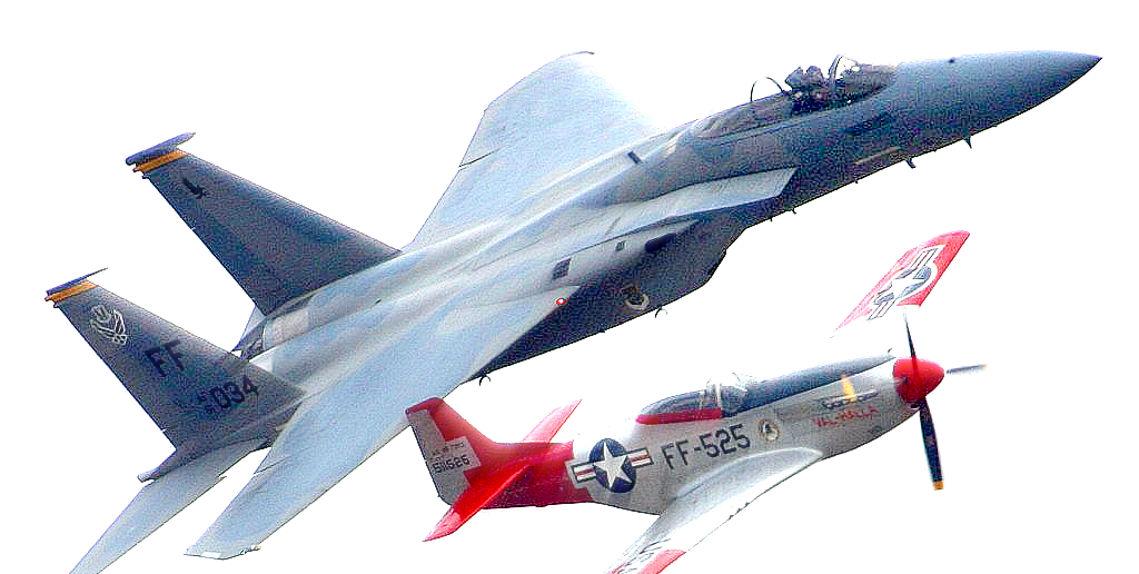 two-air-fighters